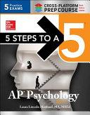5 Steps to a 5 AP Psychology 2017 Cross Platform Prep Course