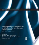 The Green Fiscal Mechanism And Reform For Low Carbon Development Book PDF