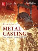 Pdf Principles of Metal Casting, Third Edition Telecharger