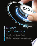 Energy and Behavior Book