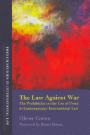 Cover of The Law Against War