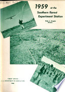 Southern Forest Experiment Station Annual Report