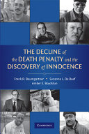 The Decline of the Death Penalty and the Discovery of Innocence ebook