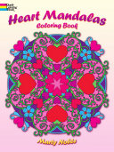 Heart Mandalas Coloring Book