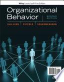 """Organizational Behavior"" by Mary Uhl-Bien, Ronald F. Piccolo, John R. Schermerhorn, Jr."