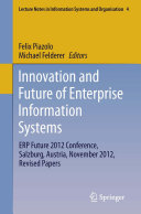 Innovation and Future of Enterprise Information Systems