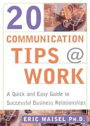 20 Communication Tips at Work