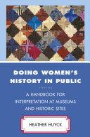 Doing Women s History in Public