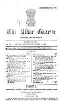 The Bihar Gazette