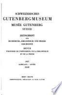 Schweizerisches Gutenbergmuseum
