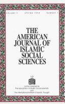 American Journal of Islamic Social Sciences 11:1