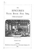 The Epicure's year book and table companion [ed. by W.B. Jerrold].