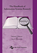 Pdf The Handbook of Information Systems Research Telecharger