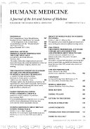 Humane Medicine Book PDF