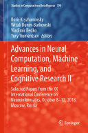 Advances in Neural Computation  Machine Learning  and Cognitive Research II