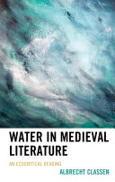 Pdf Water in Medieval Literature Telecharger