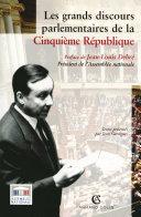 Les grands discours parlementaires de la Cinquième République Pdf/ePub eBook