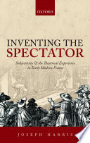 Inventing the Spectator Book