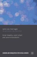 Same Sex Marriages Pdf/ePub eBook