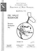 Del Valle Reservoir  Recreation Development Plan