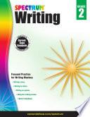 Spectrum Writing Grade 2
