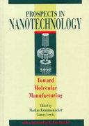 Prospects in Nanotechnology