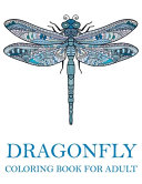 Dragonfly Coloring Books for Adult