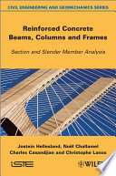 Reinforced Concrete Beams  Columns and Frames Book