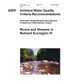 Ambient water quality criteria recommendations information supporting the development of state and tribal nutrient criteria for rivers and streams in nutrient ecoregion IVgreat plains grass and shrublands [Pdf/ePub] eBook
