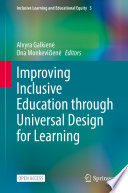 Improving Inclusive Education through Universal Design for Learning