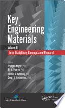 Key Engineering Materials Volume 2 Book PDF