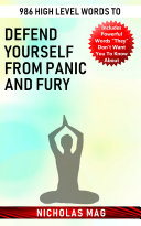 986 High Level Words to Defend Yourself from Panic and Fury