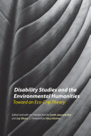 Pdf Disability Studies and the Environmental Humanities
