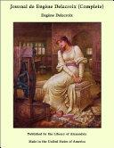 Pdf Journal de Eugène Delacroix (Complete) Telecharger