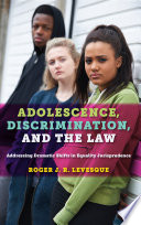 Adolescence Discrimination And The Law
