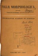 Folia Morphologica Book PDF