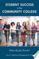 Student Success In The Community College Book PDF