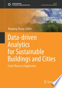 Data driven Analytics for Sustainable Buildings and Cities Book