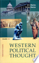 """Western Political Thought"" by Urmila Sharma, S.K. Sharma"