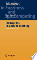 Innovations in Machine Learning