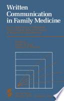 Written Communication in Family Medicine