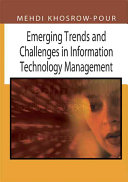 Emerging Trends and Challenges in Information Technology Management