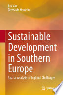 Sustainable Development in Southern Europe Book