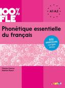Pdf Phonétique essentielle du français niv. A1 A2 - Ebook Telecharger