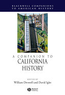 A Companion to California History