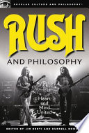 Rush And Philosophy Book