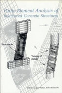 Finite Element Analysis of Reinforced Concrete Structures Book