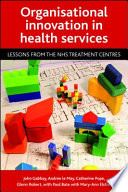 Organisational Innovation In Health Services Book PDF