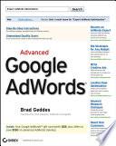 """""""Advanced Google AdWords"""" by Brad Geddes"""