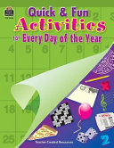 Pdf Quick and Fun Activities for Every Day of the Year